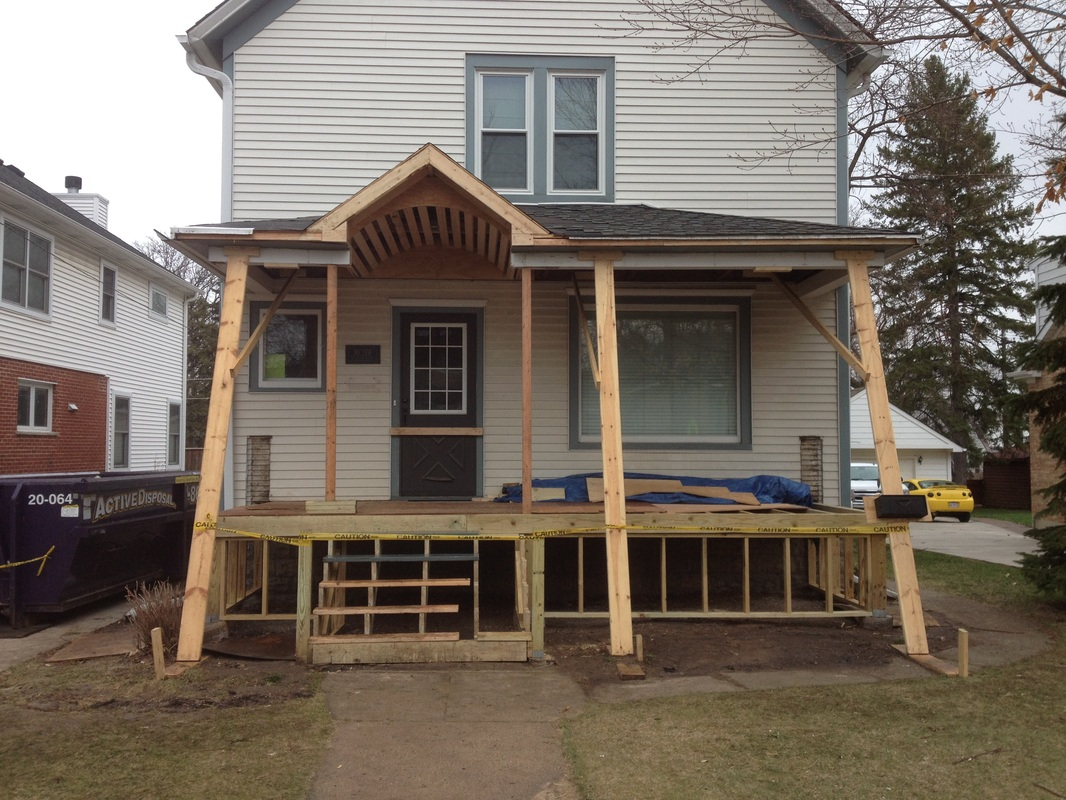 Before after moonhouse llc for What is a porch
